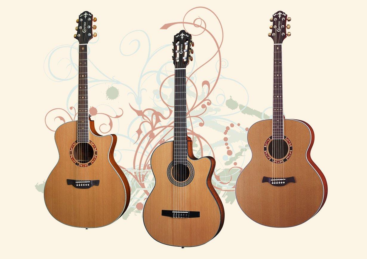 Crafter 15 Series Guitars