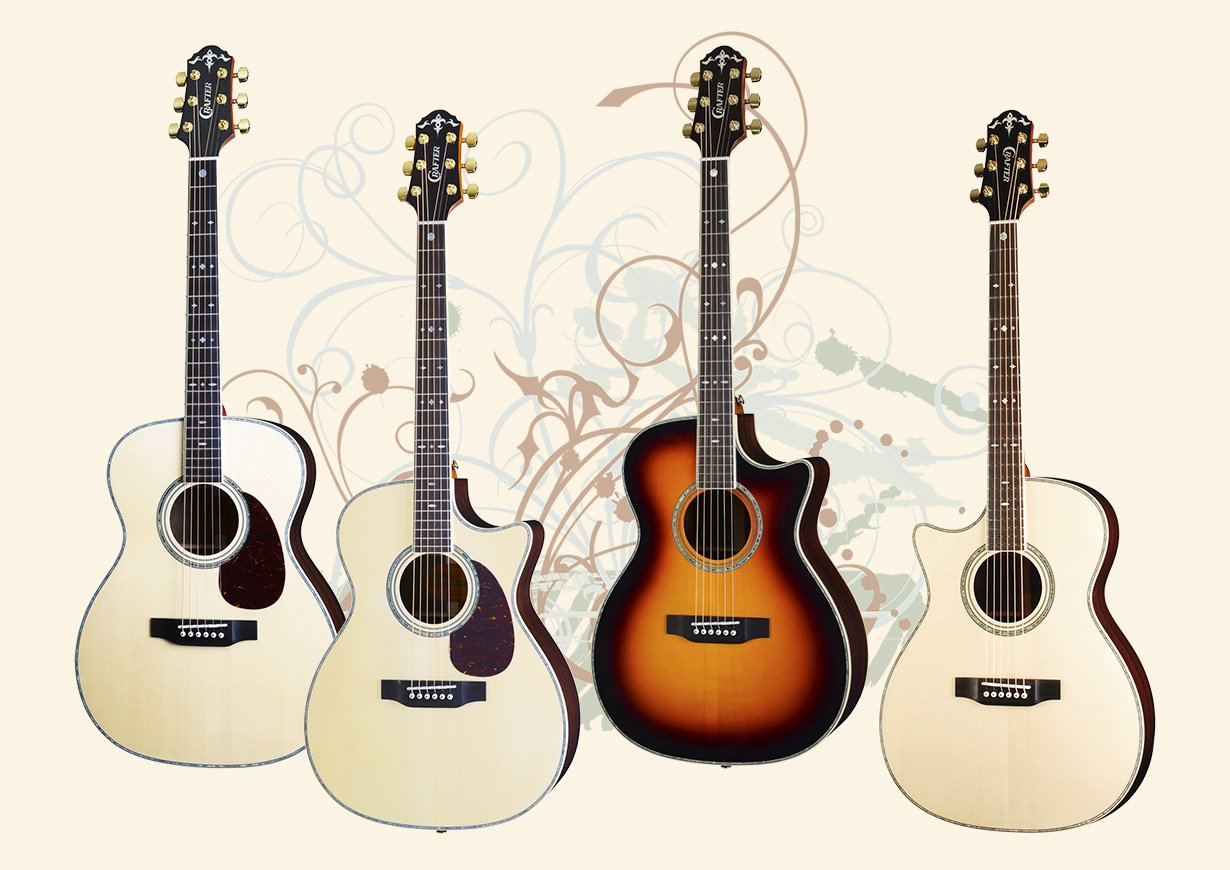 Crafter T and TC Series Guitars