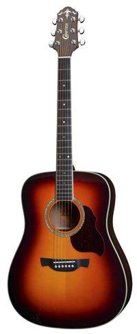 Crafter D8 Guitar in Tobacco Sunburst