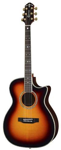 Crafter TC035 Guitar in Tobacco Sunburst