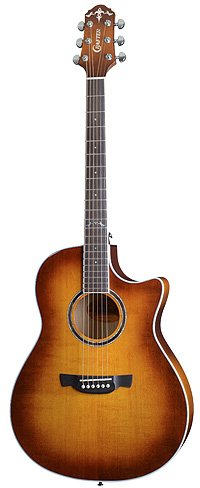 Crafter AGE 400 Tiger Maple Vintage Finish Guitar
