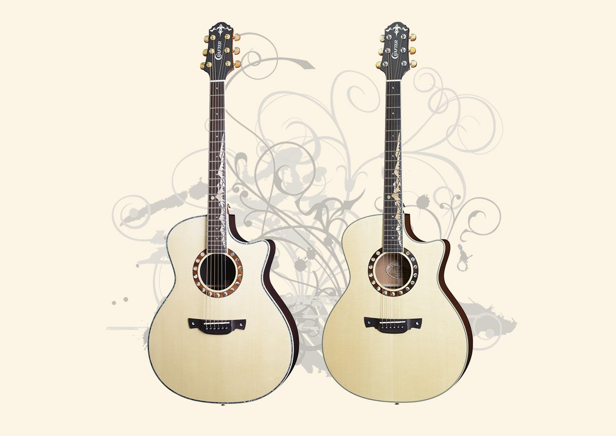 Crafter Moonlight Anniversary Guitars - 30th Anniversary Re-released