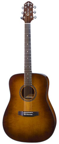 Crafter HiLITE D SP Guitar in Vintage Finish