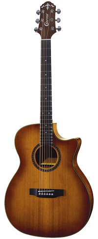Crafter HiLITE TE CD Guitar with Vintage Finish