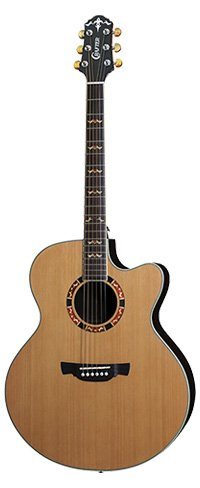 Crafter JE 18 Jumbo Acoustic Guitar
