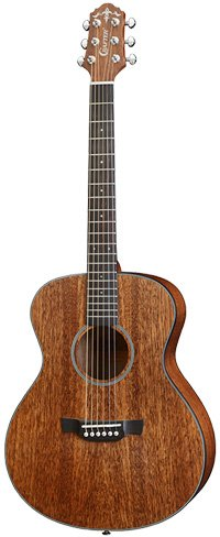 Crafter LITE Cast A MH/BR Guitar in Mahogany