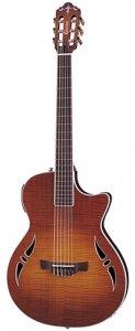 Crafter SAC-TMVS Classical Slim Arch Guitar in Tiger Maple Sunburst