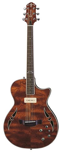 Crafter SAT BUB Hybrid Guitar in Bubinga