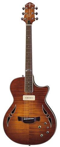 Crafter SAT TMVS Hybrid Guitar in Tiger Maple Vintage Sunburst