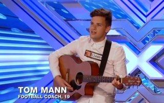Tom Mann X Factor Audition