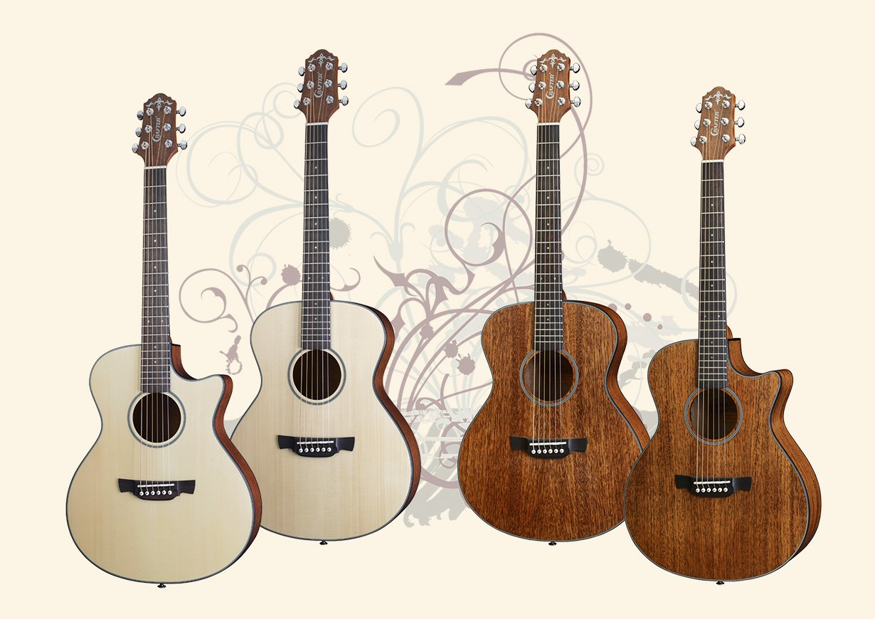 Crafter LITE Cast Series Guitars