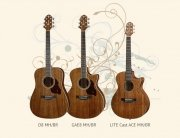 New Crafter Mahogany Guitar Models