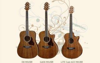 New Crafter Mahogany Guitar Models