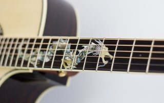 Anniversary Crafter Dragon Guitar