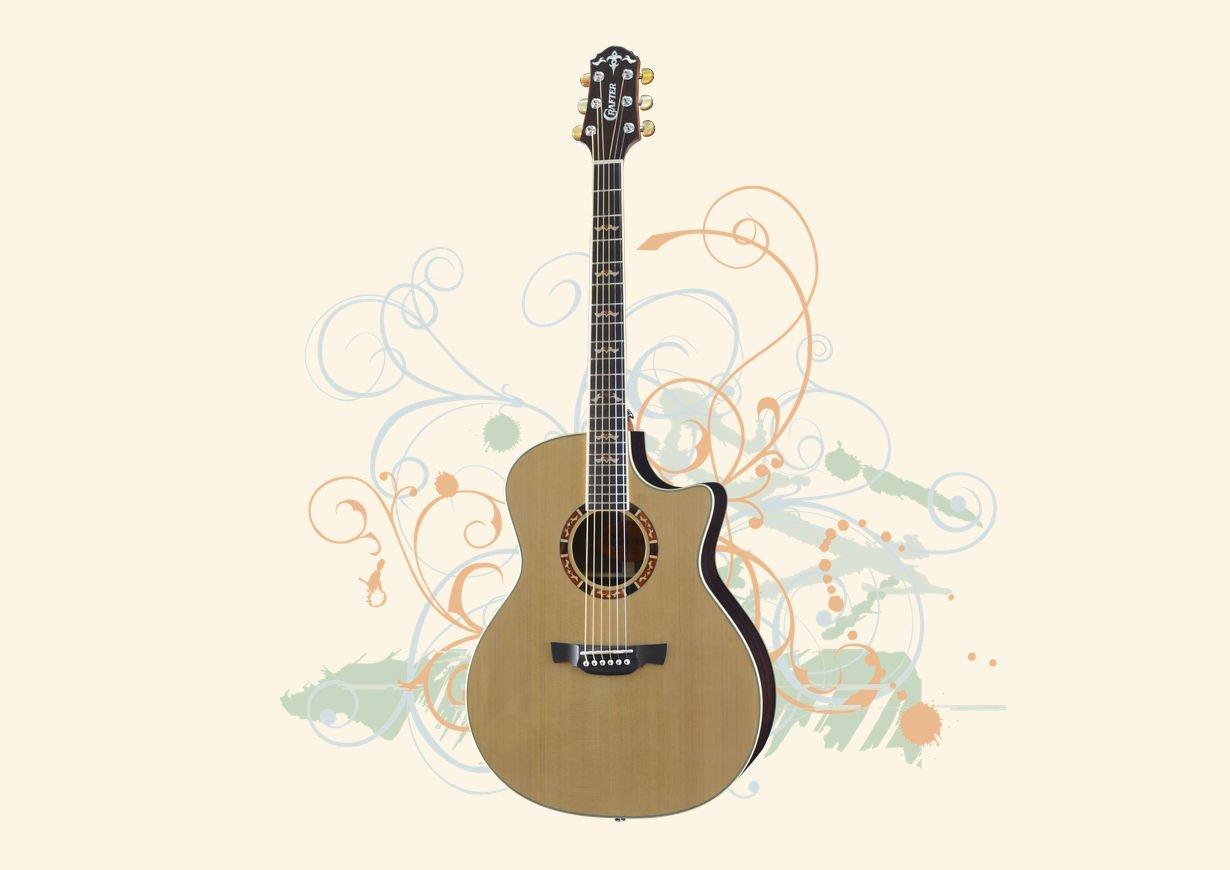 Crafter 18 Series Guitars
