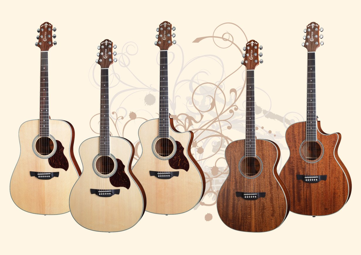Crafter 6 Series Guitars