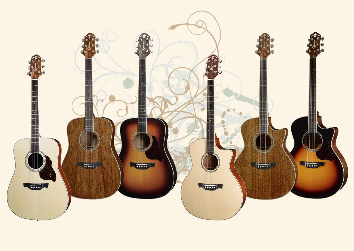 Crafter 8 Series Guitars