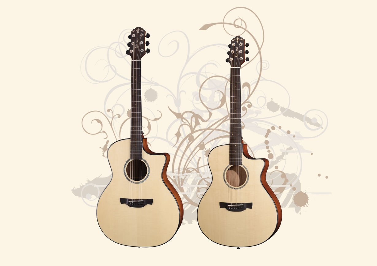 Crafter ABLE Series Guitars
