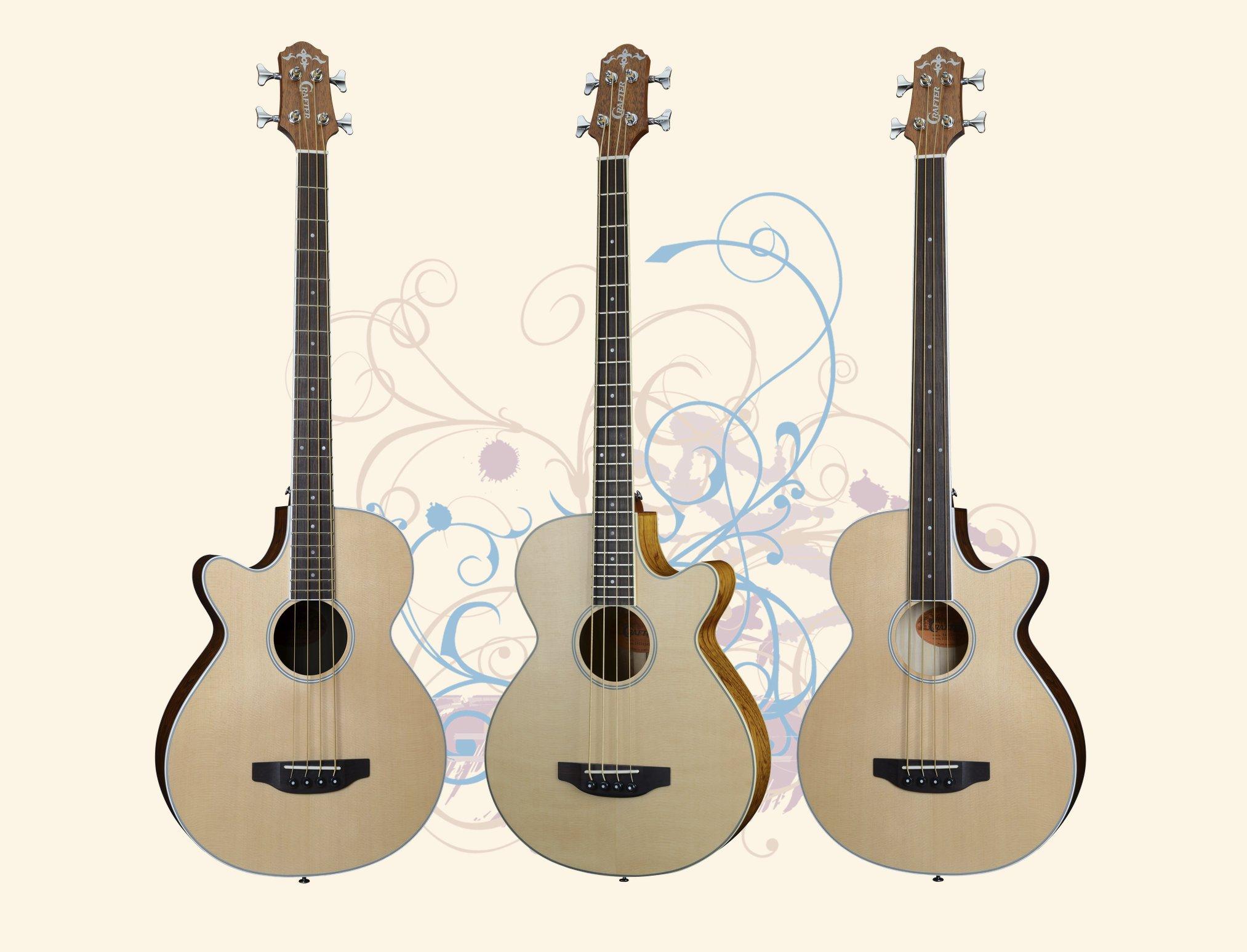 Crafter Bass Series Guitars