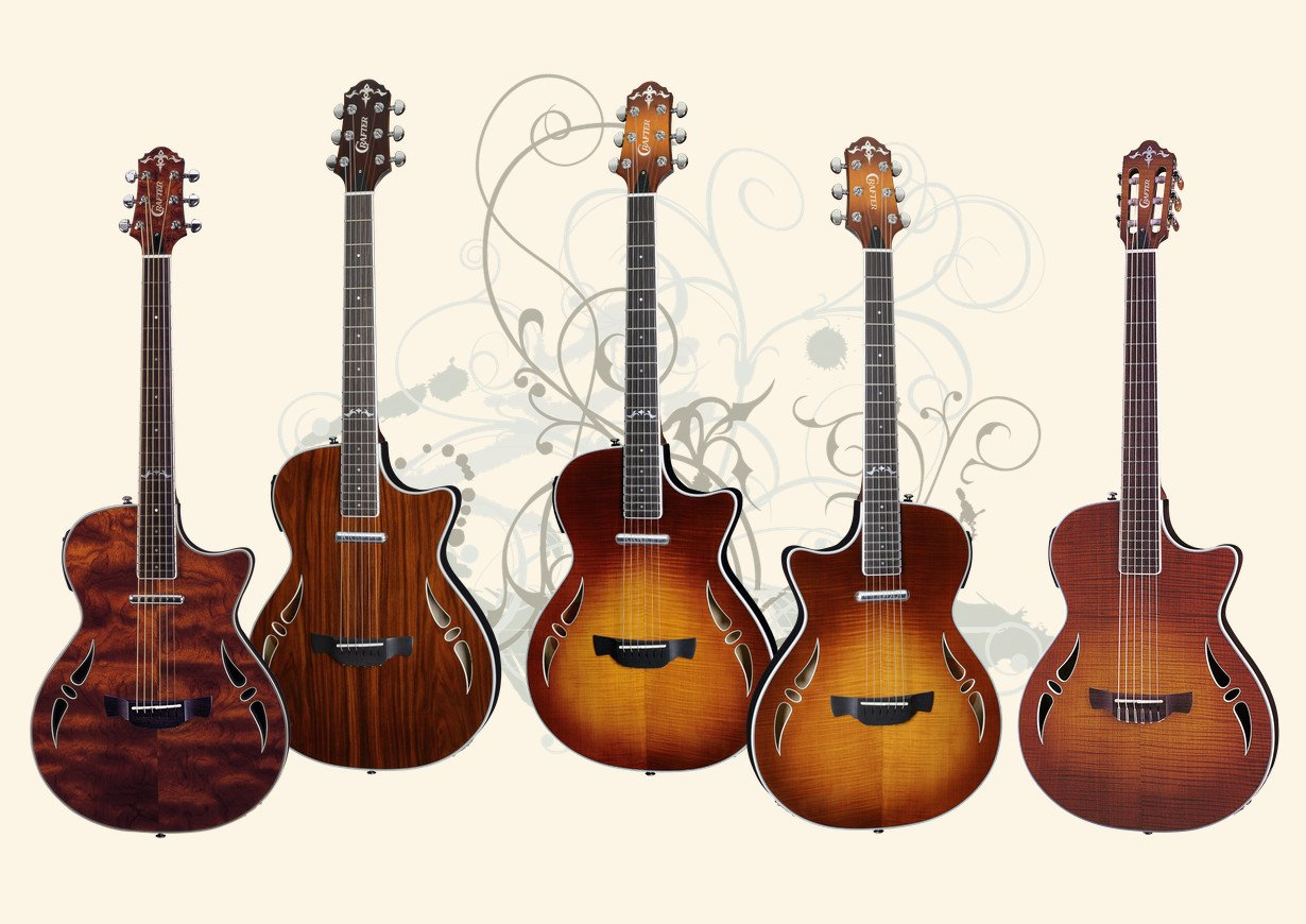 Crafter SA (Slim Arch) Series Guitars