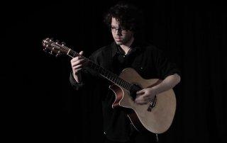 Kaylen Castle plays Crafter Guitars