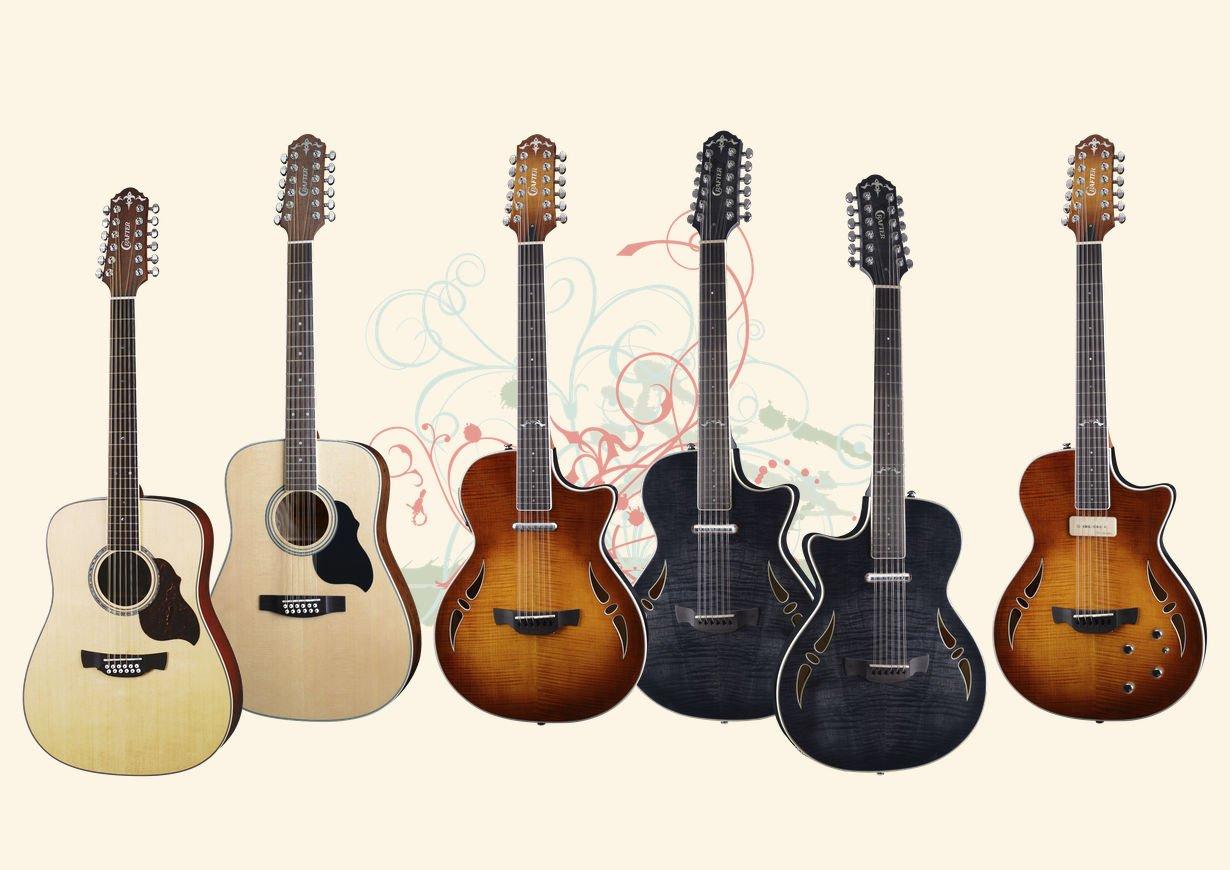 Crafter 12 Series Guitars