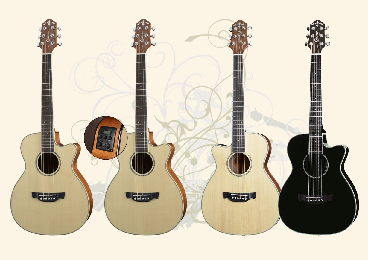 Crafter Travel Series Guitars